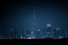 Down Town Dubai (|MBS-..|) Tags: nikon d700 burjkhalifa khalifa burj dubai palm jumeirah seascape cold skyline