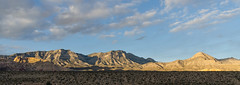 Sunset in Red Rock Canyon National Conservation Area (Lena and Igor) Tags: travel america us usa unitedstates nevada redrockcanyon sunset mountains scenic panorama nature landscape dslr nikon d7000 nikkor 18300