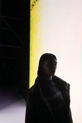 into shadows... (f_lynx) Tags: sonya7 sonyfe282 flynx nataliburchik model girl fun catwalk runway shadows black silhouette backstage fashionweek fashion mercedesbenzfashionweekrussia 2x3 portrait face light dark