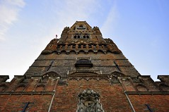 Belfry in Brugge (lucivo) Tags: belfry belfort tower bells carillion city town medieval