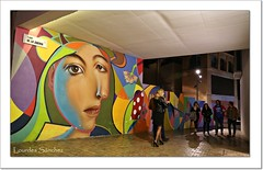 Plaza de la Judería- Málaga (Lourdes S.C.) Tags: calles plazas nocturna málaga personas