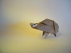 Jabali - Oriol Esteve (Rui.Roda) Tags: origami papiroflexia papierfalten javali wild boar sanglier jabali oriol esteve