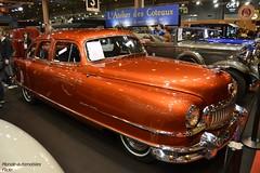 Nash Ambassador Custom 1951 (Monde-Auto Passion Photos) Tags: auto automobile voiture vehicule nash ambassador custom coupé orange cuivre collection rare rareté ancienne france paris retromobile evenement