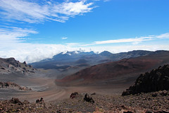 Haleakalā Crater Hike (russ david) Tags: haleakalā crater hike haleakalānationalpark mauiseptember2016 national park maui september 2016 landscape volcano hawaii hi ハワイ 風景