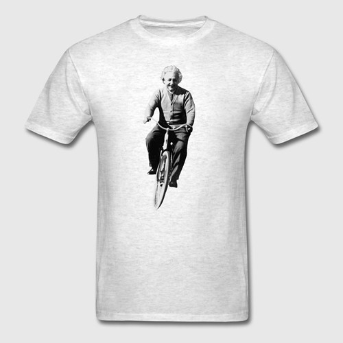 albert-einstein-on-a-bike-t-shirts-men-s-t-shirt