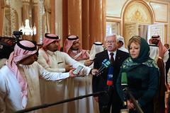 Визит В. Матвиенко в Саудовскую Аравию (The Council of Federation) Tags: советфедерации валентинаматвиенко саудовскаяаравия