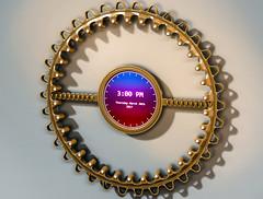 ClockD5f (Ke7dbx) Tags: productdesign industrialdesign clock clocks concept conceptart tech technology modo cg cgi 3d lcd led screen ideas