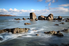 The Needles (Aspects of Wales) Tags: pwlldu gower wales walescoast longexposure littlestopper hightide sea swansea