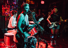 Piss Ghost2 @ New World Brewery in Ybor, Florida (4/19/2017) (Anthony Pipe) Tags: yellow canon7d music punk garage rock concert tampa florida ybor newworldbrewery