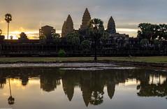 Angkor Wat Sunrise Cambodia