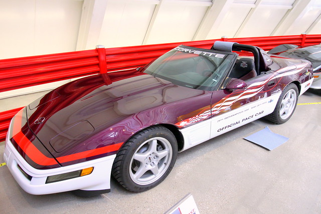 National Corvette Museum: 1995 Indy 500 Pace Car