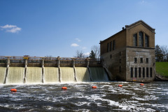 Barton Dam in the spring (rexp2) Tags: dam hydroelectric industry nikkorpc28mmf35 powerplant sonyalpha7rilce7ra7r