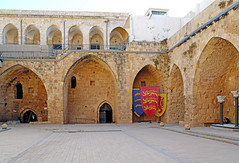 Israel-05098 - Crusader Courtyard (archer10 (Dennis) 94M Views) Tags: israel akko acre crusader fortification castle town tunnel lighthouse museum port ruins mediterranean globus sony a6300 ilce6300 18200mm 1650mm mirrorless free freepicture archer10 dennis jarvis dennisgjarvis dennisjarvis iamcanadian novascotia canada