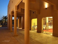 Al Bujairi, Ad Diriyah (Historical), Saudi Arabia (©Yazeed) Tags: sky tree trees palms albujairi night light prayers praying pray mosque old historical saudiarabia riyadh yaeed photographer photo photography canon5dmarkiv canon5d canon
