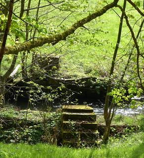 da war mal eine Brücke - abandoned bridge - Abtal-Wanderung (Nordschwarzwald)