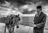 (Djordje Petrovic) Tags: holymountain svetagora greece athos sky clouds blackandwhite bw monochrom sea tokina1224mm tokina nikond80