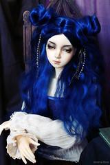 Livadia (Kimirra) Tags: bjd abjd kagamidesign angorawig alpacawig dollmore hayarn hayarncho colorfulhair colorfulwig