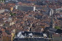 Grenoble les Vieux Quartiers depuis la Bastille (jean_game) Tags: extérieur ville alpes france grenoble vieuxquartiers hauteur bastille couleurs paysage
