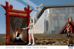 SPACE TREK (ADRIANO ART FOR PASSION) Tags: fantascienza siencefiction fotomontaggio photoshop ming aura porta monolito pianetamongo adrianoartforpassion imperatoreming princessaura nuoveavventure photoshopcreativo