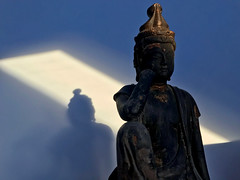 IMG_3577 (sixthland) Tags: antique blipfoto buddha cameraphone carving domestic iphone7 shadow statue sunset