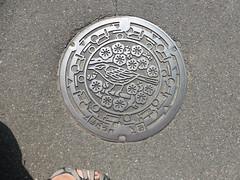 Adachi manhole (Stop carbon pollution) Tags: japan 日本 honshuu 本州 touhoku 東北 fukushimaken 福島県