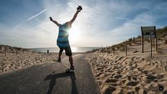 Blunt 180 par Alexis (Trialxav) Tags: longboard longskate moonshine mfg slide sun soleil seignosse tricks blunt landes route plage