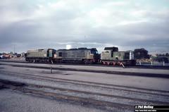 1237 B1604 X1010 A1510 Forrestfield Loco Depot 21 May 1980 (RailWA) Tags: railwa philmelling b1604 x1010 a1510 forrestfield loco depot may 1980 westrail