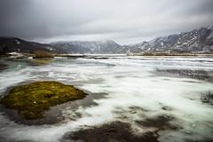 Paesaggio glaciale (SDB79) Tags: ghiaccio neve freddo paesaggio natura matese lago montagna