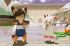 Fun day (Yukiterudiary) Tags: mesomeso avatar meso nam head paws dura sl second life gacha