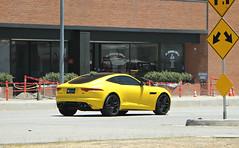 Jaguar F-Type R (SPV Automotive) Tags: jaguar ftype r coupe exotic sports car matte yellow