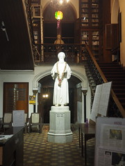 Old Parsis in the Library (scotted400) Tags: mumbai bombay india parsi library statue
