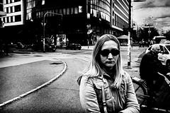 waiting for green light (Zlatko Vickovic) Tags: streetstreetphoto streetphotography streetphotographybw streetbw streetphotobw blackandwhite monochrome zlatkovickovic zlatkovickovicphotography novisad serbia vojvodina srbija