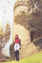 Rachel 042017 A (Jon Moran - Jonm2001) Tags: jonmoranphotography jonmoran fashion fashionshot femalemodel malahidecastle malahide redhair redtop locationshot outdoorportraits outdoorshoot colourportraits