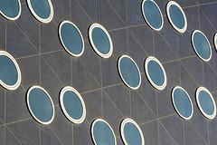 Sixteen round windows (Jan van der Wolf) Tags: map15376v windows ramen modernarchitecture architecture architectuur wall muur gevel facade round circle lines playoflines interplayoflines lijnen lijnenspel composition compositie visualrhythm rhythm herhaling repetition abstract
