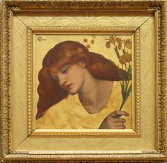 Dante Gabriel Rossetti - Sancta Lilias 1874
