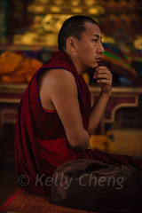 Mongolia-130803-633 (Kelly Cheng) Tags: amarbayasgalantmonastery asia buddhism centralasia mongolia ceremony color colorful colour colourful culture heritage indoor monk people persons pray prayer red religion tourism travel traveldestinations vertical vivid