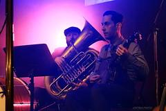 Les Royal Pickles (Maxime Poulin) Tags: indoor men music musicinstrument scene retro people