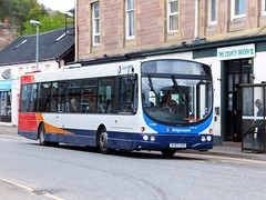 Stagecoach 21205 Dingwall (Guy Arab UF) Tags: bus buses scotland volvo highlands orkney wright coaches stagecoach 21205 dingwall rossshire b7rle sy07cfd
