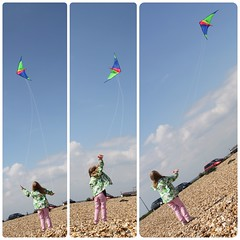 left...right...level ( EkkyP ) Tags: kite beach flying erratic