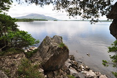 An Undiscovered View... (Dave-B2012) Tags: trees ireland house lake mountains landscape nikon scenery rocks view scenic muckross killarney countykerry upperlake d90 bestevercompetitiongroup