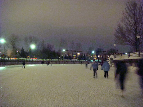 Rideau Canal at Night - 2