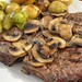 Mmm... steak and mushrooms