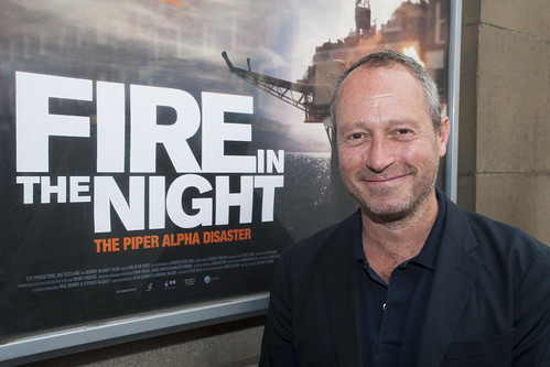 Fire in the Night Director Anthony Wonke outside the Filmhouse