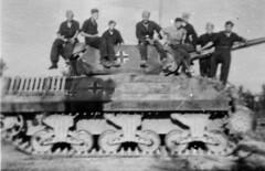 "Germans captured M10 ""Wolverine"" SPG. Italy, 1943"