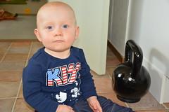 My son Douglas (petrusko.rm) Tags: summer kid nikon son dslr douglas 2013 d5200