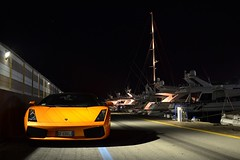 Lamborghini Gallardo Spyder (Reventon09) Tags: summer italy orange nikon spyder lamborghini gallardo supercars 18105 alassio carspotting 2013 d3100