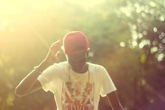 Sunny Ray (I'mJustStartingOut) Tags: portrait youth manchester sunny chain manc snapback