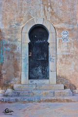 The Door I (Hamza Filali) Tags: door old algeria graphic designer arc arabic constantine algerie hamza islamic filali
