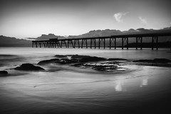 Catherine Hill Bay (Leighton Wallis) Tags: beach pier rocks jetty wave australia lee nsw newsouthwales centralcoast lakemacquarie catherinehillbay bigstopper