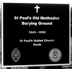 St. Paul's Old Methodist Burying Ground (1843-1952) (Will S.) Tags: signs ontario canada church cemetery sign canal headstone tomb tombstone churches headstones christian mausoleum perth gravestone christianity methodist methodism tombstones crypt mypics gravestones protestant protestantism perthontario lastduel